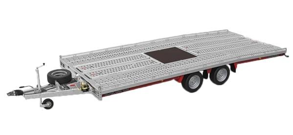 trailer achter auto